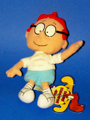 "Rocky & Bulwinkle Advantures: Sherman Boy Plush Beanbags 8"" Cvs 1999"