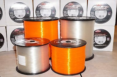 Berkley ProSpec Chrome Mono Fishing Line 50Lb 950yds Blaze Orange 1lb Spool