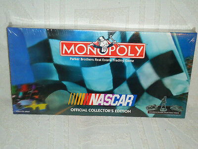 Nascar Monopoly Official Collector's Edition Brand New