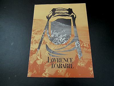 Lawrence Of Arabia Vintage French Pressbook & Photo Lobby Cards Peter O'toole