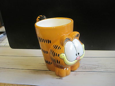 Garfield Coffee Mug 3D Figural 2005 Burton and Burton