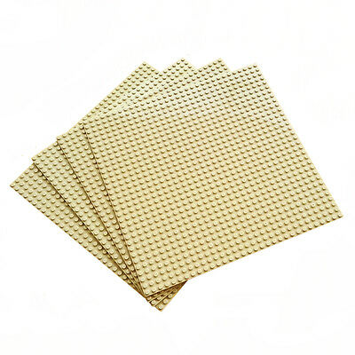 4pcs Baseplate Compatible For Lego Block Display Brick 32x32 Dots Sand