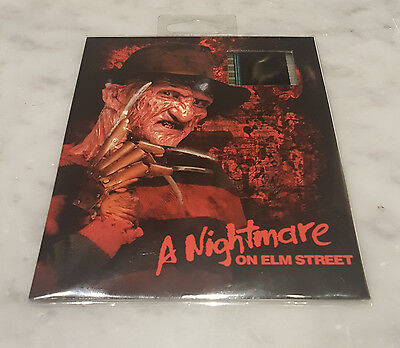 A NIGHTMARE ON ELM STREET (Freddy) Film Cell Wes Craven NEW! See picture!