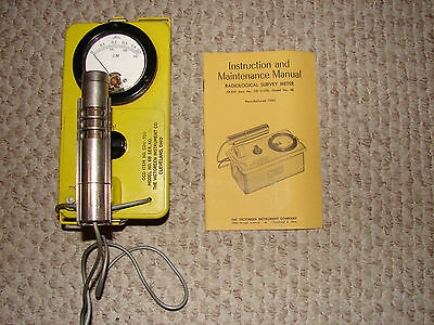 Victoreen CDV-700 Model 6b Geiger Counter  Radiation Detector Meter WORKING