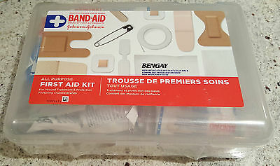 BAND-AID First Aid Products All Purpose First Aid Kit (Brand New and Sealed)