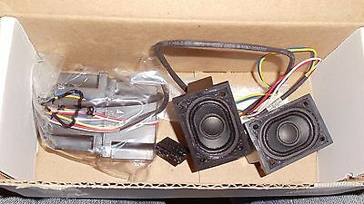 Lot of 2 NCR 7402 REAL POS 70 POINT SALE COMPUTER LEFT & RIGHT INTERNAL SPEAKER