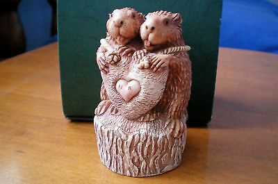 Valentine Romance Annual Harmony Kingdom Tunnel of Love Beavers UK Made NIB