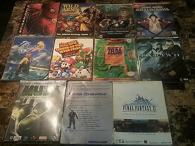 11 Gameguides including mario rpg & A link to the past