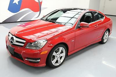 2012 Mercedes-Benz C-Class  2012 MERCEDES-BENZ C250 COUPE PANO ROOF HTD SEATS 52K #739210 Texas Direct Auto