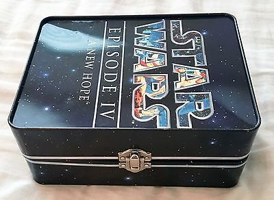 Star Wars Episode Iv A New Hope Metal Tin 2006 Collectible Lunch Box