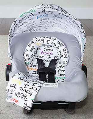 Carseat Canopy Caboodle Infant Car Seat Canopy Cover 5 piece Set Covers Harley