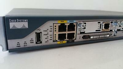 CISCO 2801 / 2800 Series Integrated Services Router w/ 64MB Flash, VWIC 1MFT-E1