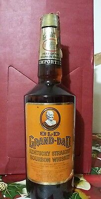 old grand dad kentucky straight bourbon whiskey