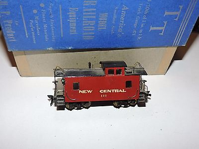 HP PRODUCT TT  (1:120th) SCALE NEW CENTRAL RED CABOOSE  # 890