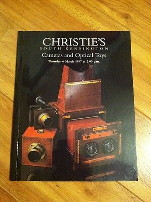 Christie's London Cameras and Optical Toys auction catalog March 1997