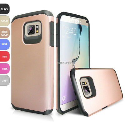 For Samsung Galaxy S8 / S8 Plus /S7 /S7 Edge Hybrid Armor ShockProof Rubber Case