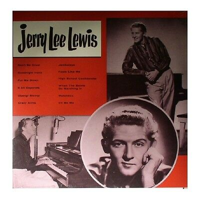 LP - Jerry Lee Lewis - Jerry Lee Lewis - Re, Rockabilly, Rock And Roll