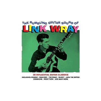 2 x LP - Link Wray - The Rumbling Guitar Sound Of - Surf, Rockabilly