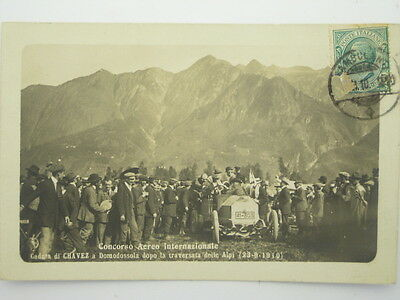 Aviation Pioneer-Italy-Domodossola-Famous People-Chavez-1910-O7M-S54235