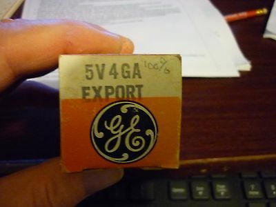 5V4Ga  Export  Quality  Tube Brand New In Box.
