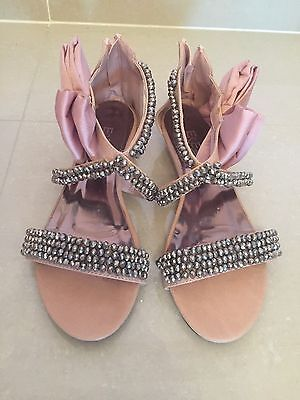 Blush Pink Sandals By E&E Plus In Size 39 (women's 8)