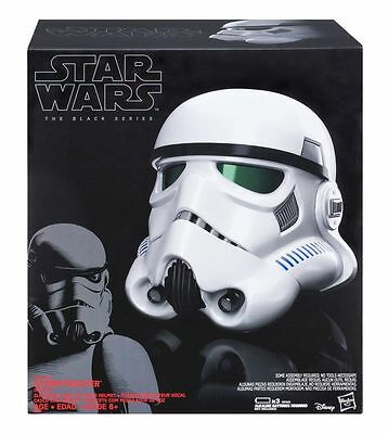 STAR WARS Hasbro Casco The Black Series Imperial Stormtrooper Rogue One
