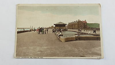 Postcard Towyn, Wales, Promenade & Paddling Pool. Unposted.