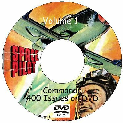 COMMANDO comics 400 Issues on 2 DVDs 1964 - 2007 Classic War Stories