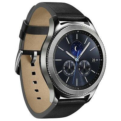 Samsung Galaxy Gear S3 R770 Classic Silver Android Smartwatch Fitnessarmband