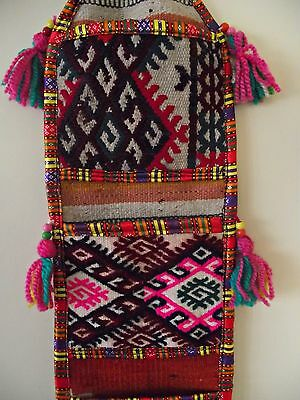 Hanging Wall Pocket Country Home Decor Multifunctional Organizer VINTAGE RUG