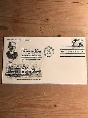 USA Henry ford 1st Day Cover