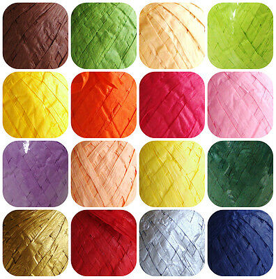 Paper Raffia  Ribbon Various Colors Gift Wrapping Art And  Crafts Scrapbooks