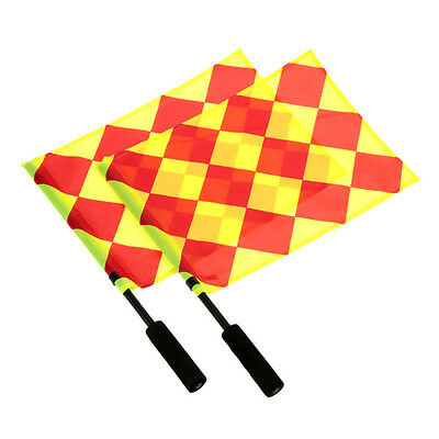 Soccer Referee Flag Play Sports Match Football Linesman Competition Equipment