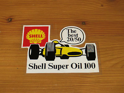 Classic shell oil sticker from the 60's