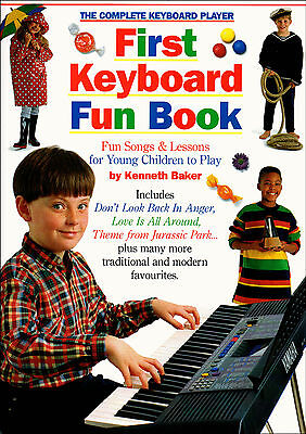 Childrens First Keyboard Fun Music Book Complete Player Learn to Play Beginners