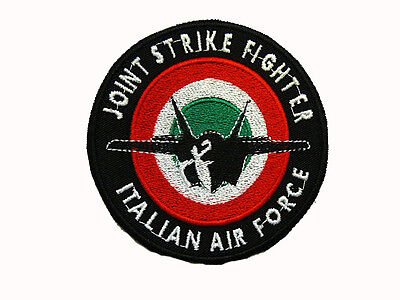 Patch Joint Strike Fighter-F35 Italian Air Force Stemma Toppa Aeronautica Milit