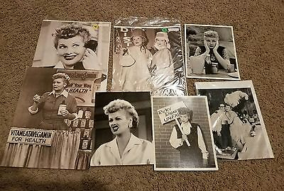 "Vintage photos of Lucille Ball 7 total 11""×14 and 8"" × 10"""