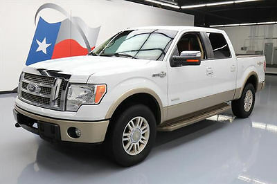 2012 Ford F-150  2012 FORD F-150 KING RANCH 4X4 ECOBOOST SUNROOF NAV 68K #D09873 Texas Direct