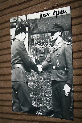 Luftwaffe Night Fighter Ace Signed Photograph No.5