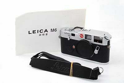 "Leica M6 0.72 (Classic) 35mm Rangefinder Film Camera  ""Excellent "" #0827"