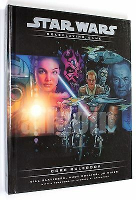 Star Wars d20 ROLEPLAYING GAME CORE RULEBOOK 2000 Wizards TSR11793 RPG