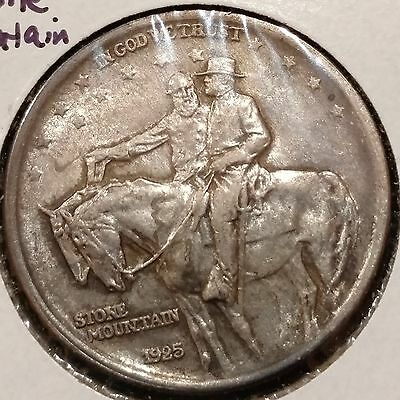 1925 Stone Mountain Silver Commemorative Half Dollar 50c