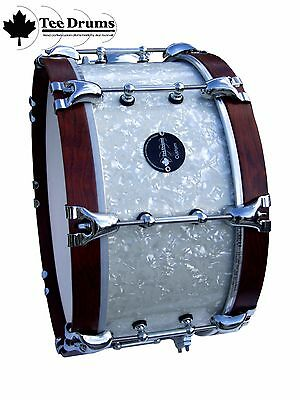 Tee Drums 14x7 Vintage style Snare Drum (with link to video demo)