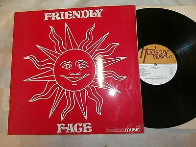 Friendly Face / Hudson Music Co. Library Record   Ex