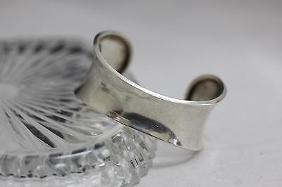 Mexico Taxco C11 925 Sterling Silver Cuff Bracelet - ~7 inches - 31.6 grams