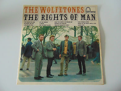 Fontana Folk LP The Wolfetones The Rights Of Man 1968 EX+ ! !