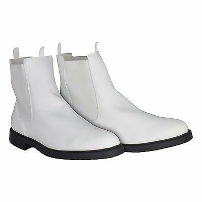 White Ankle Boots with Elastic Sides - for a Stormtrooper Costume