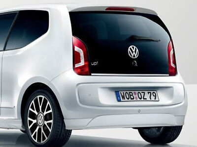 New Genuine Vw Up! Accessory Rear Lower Primed Bumper Spoiler Skirt