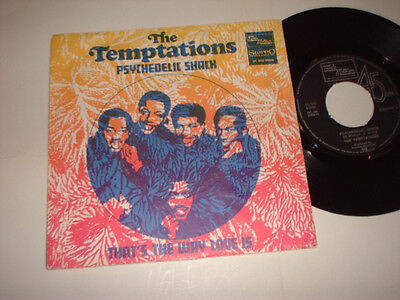 Dutch Temptations Psychedelic Shack Tamla Motown 5C006910583 Picture Cover