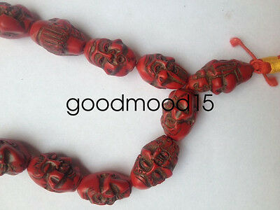 China collectibles hand-carved turquoise necklace Hand catenary XJ977